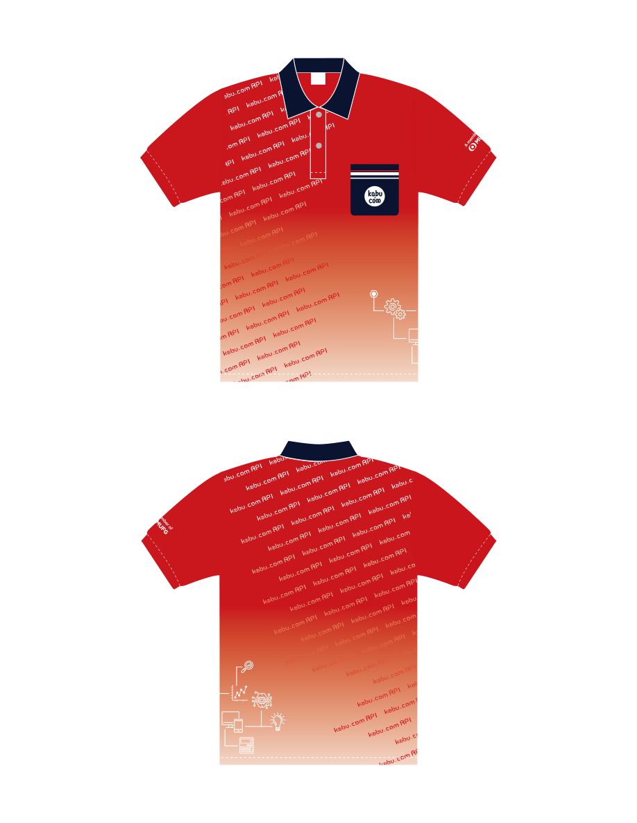 カブドットコム株式会社 イベント用ポロシャツ
